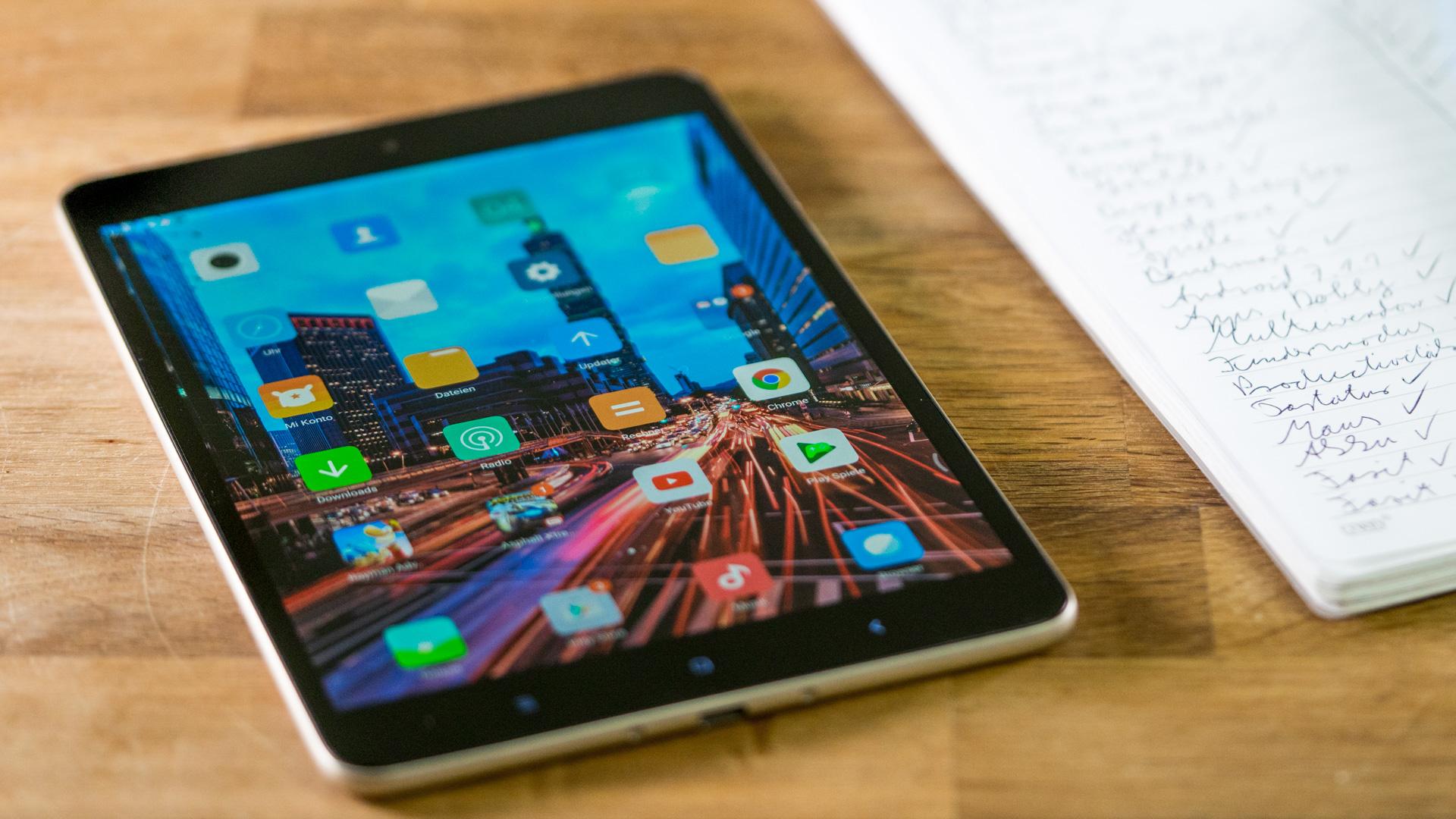 Xiaomi Tablet & iPad