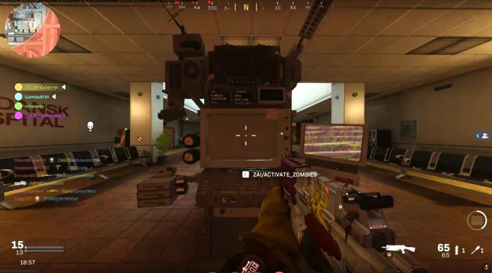 وجود بخش زامبی در فصل دوم بازی Call Of Duty Warzone