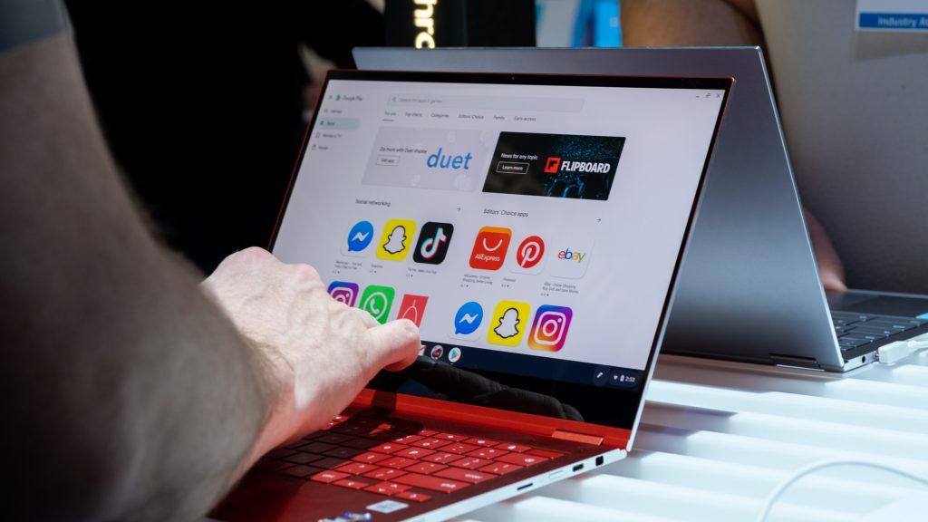 محبوبیت Chromebook ها برای نخستین بار از لپتاپ های Mac پیشی گرفت