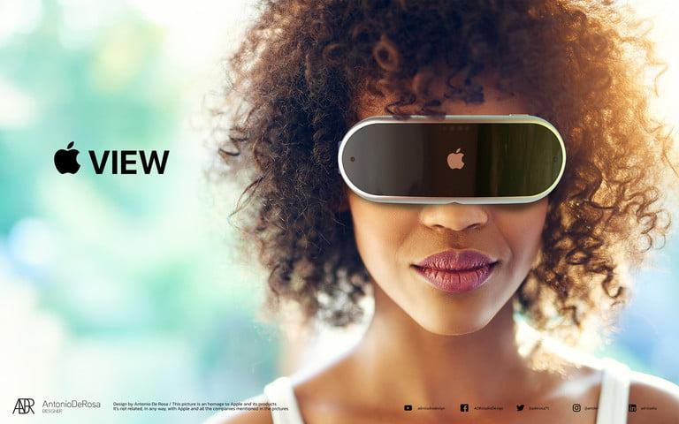 هدست VR اپل