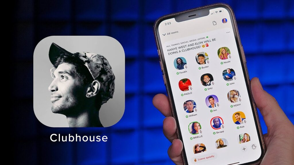 برنامه Clubhouse برای اندروید