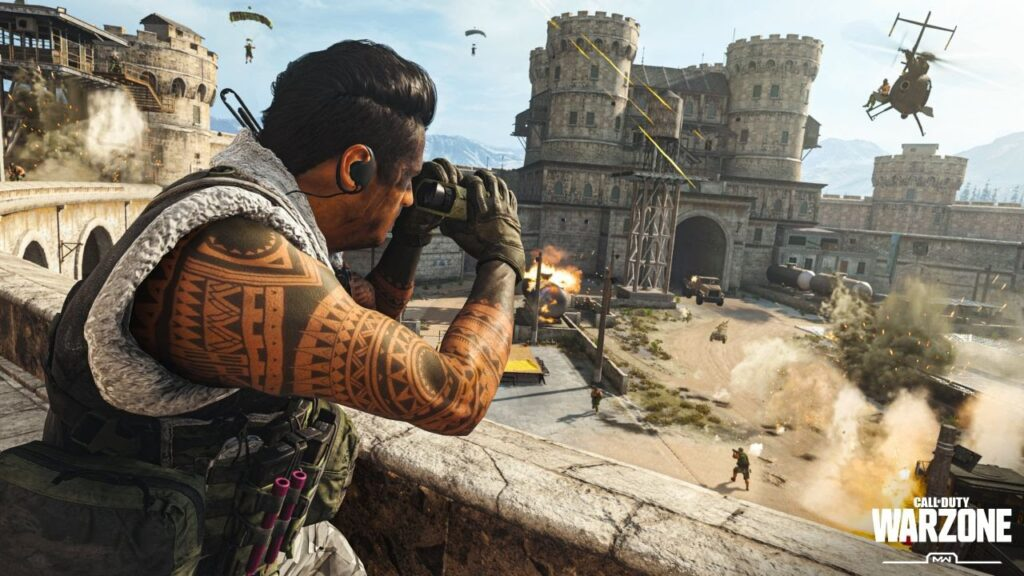 بازی Call of Duty Warzone Mobile