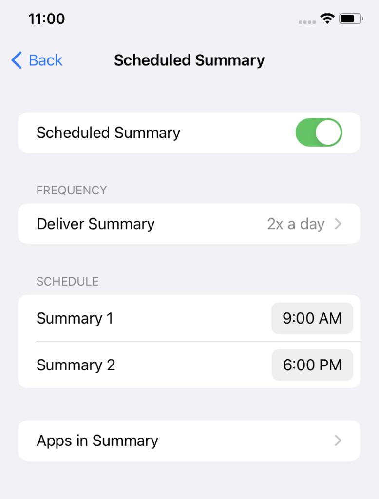 اعلان ها در iOS 15
