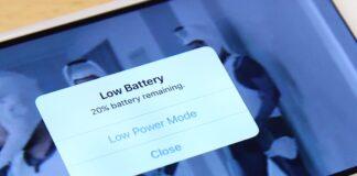قابلیت Low Power Mode در IOS