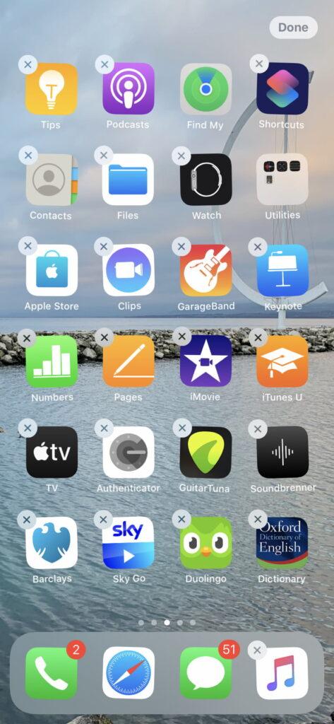 قابلیت کاربردی کتابخانه برنامه iOS 14