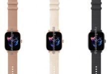 اولین تصاویر ساعت هوشمند آمازفیت GTR 3، GTR 3 Pro و GT3 منتشر شد