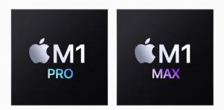 پردازنده M1 مکس و M1 پرو با عملکردی قوی توسط اپل معرفی شدند